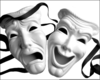 Comedy Tragedy Clipart Free Image