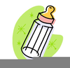 Clipart Of Baby Rattle Bottle Image