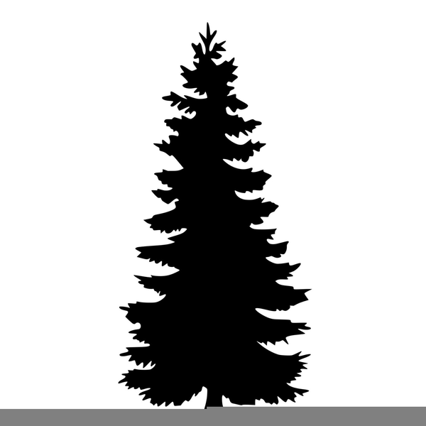 Free Clipart Pine Tree Silhouette | Free Images at Clker ...