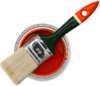 G Paint Brush Can Image