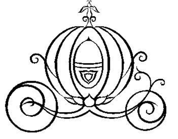Cinderella Pumpkin Carriage Clipart Free Images At Clker