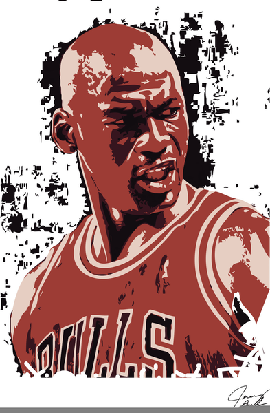 clipart of michael jordan free images at clker com vector clip rh clker com Michael Jordan Basketball Silhouette Clip Art Michael Jordan Dunk Clip Art