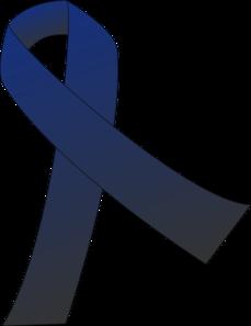 ribbon clip art at clker com vector clip art online royalty free rh clker com Colon Cancer Ribbon Color Angel with Colon Cancer Ribbon
