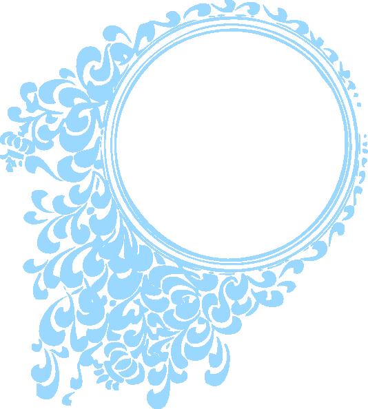 blue circle clip art - photo #48
