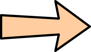 Orange Arrow Without Shadow Clip Art