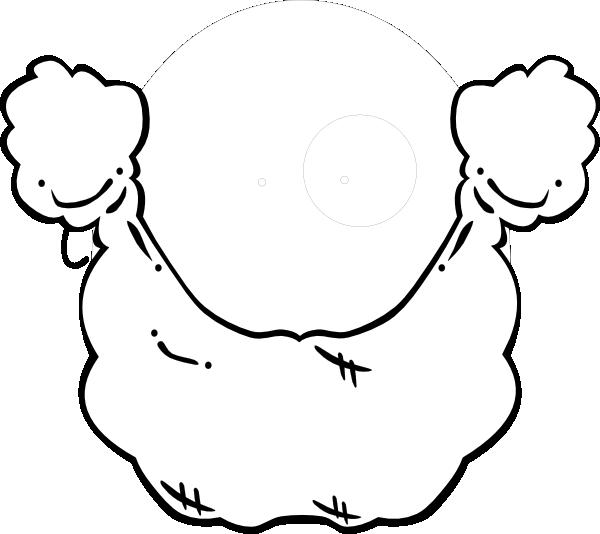 Plain White Beard Clip Art at Clker.com - vector clip art online ...
