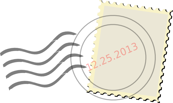 postage-stamp-simple-hi  Letter Monogram Template Bug on