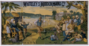 Whiteley S Original Hidden Hand Co. Clip Art