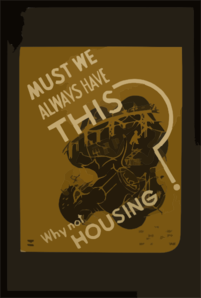 Must We Always Have This? Why Not Housing? Clip Art