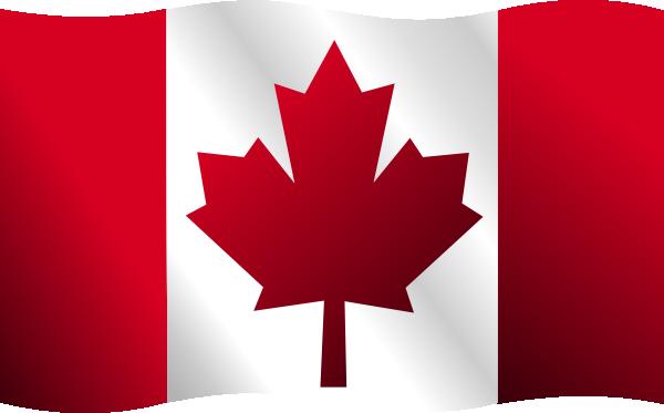 canadian flag clip art at clkercom vector clip art