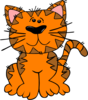 Orange Tabby Cat Clip Art