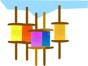 Kite Thread Clip Art