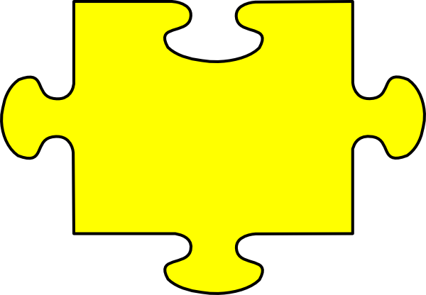 yellow puzzle clip art at clker com vector clip art Back to School Clip Art school bus clip art to color