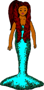 Jerisha The Mermaid Clip Art