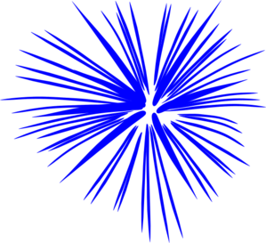 blue fireworks clip art at clker com vector clip art online rh clker com free animated clipart fireworks fireworks clipart free download