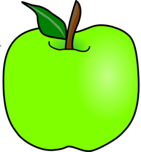 green delicious apple clip art at clker com vector clip art online rh clker com free clipart of an apple clipart of apple core
