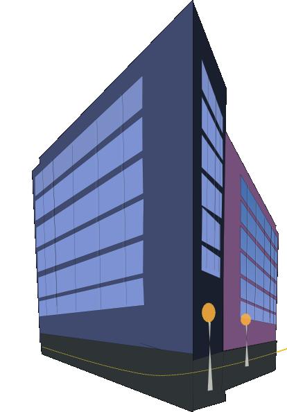 Commercial Building Clip Art At Clkercom Vector