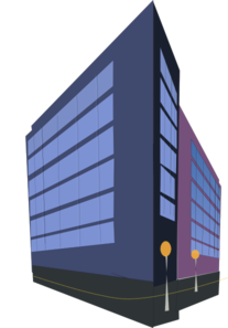 Commercial Building Clip Art