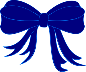 blue bow ribbon clip art at clker com vector clip art online rh clker com blue cancer ribbon clip art blue ribbon clip art free
