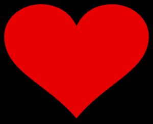 Big Heart Clip Art at Clker.com - vector clip art online ...