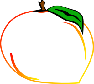 Fresh Peach Clip Art
