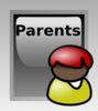 Parents Button Clip Art