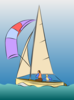 Sailing Dinghy Clip Art