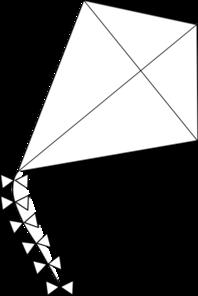 Kite Clip Art at Clker.com - vector clip art online ...