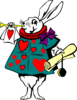 Alice In Wonderland Rabbit Clip Art