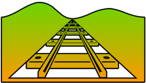 Railroad Cutout Clip Art