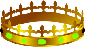 Crown Lit King Clip Art