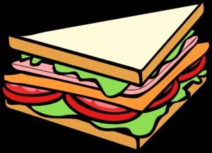 Sandwich Half 3 Clip Art at Clker.com - vector clip art online ...