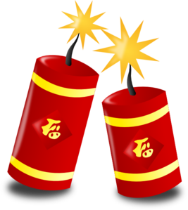 Chinese Fireworks Clip Art