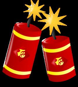 chinese fireworks clip art at clker com vector clip art online rh clker com  free clipart firecracker
