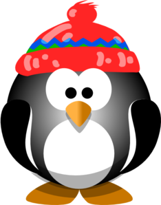 cute penguin with hat clip art at clker com vector clip art online rh clker com  cute penguin clipart