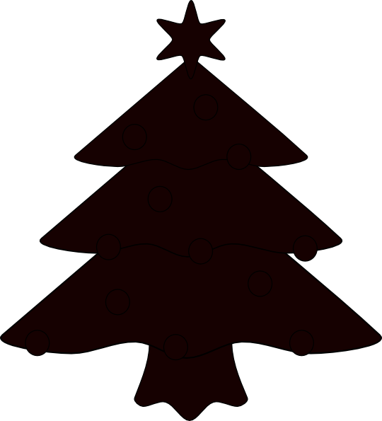 Christmas Tree Vector Outline Just Another Wordpress Site