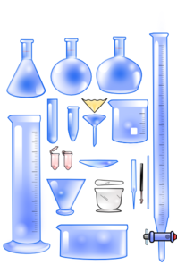 Lab Containers Clip Art