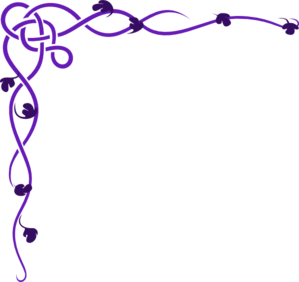 Purple Celtic Clip Art