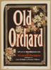 Old Orchard A Play Of New England Life By Marguerite Merington. Clip Art
