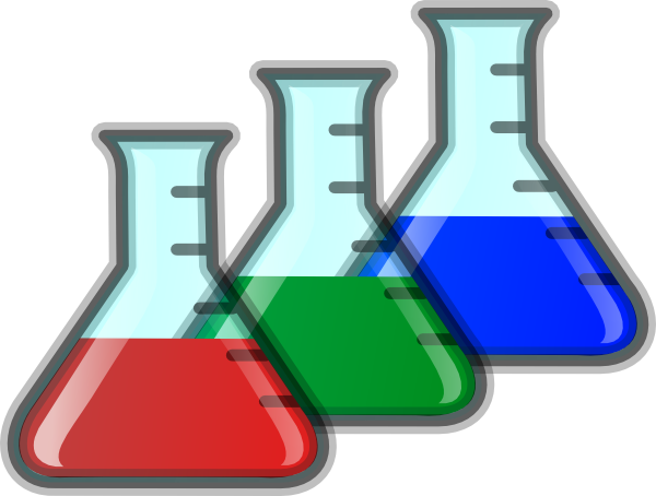 clipart test tubes and beakers - photo #8