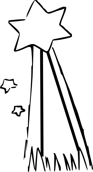 Shooting Star Clip Art At Clker Com
