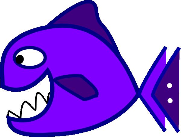 Fish purple. Clip art at clker