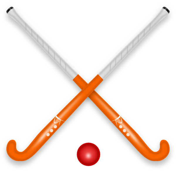 hockey stick   ball clip art at clker com vector clip hockey stick clipart transparent hockey stick clipart small image