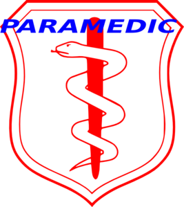 Paramedic Badge Clip Art