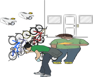 Bike Storage Clip Art