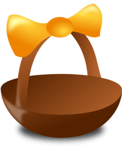 Empty Easter Basket Clip Art at Clker.com - vector clip art online ...