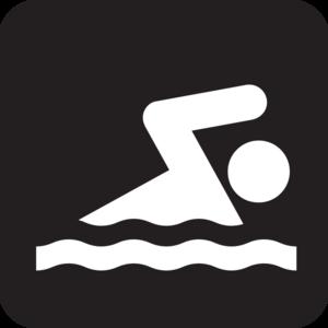 Nadando Clip Art at Clker.com - vector clip art online, royalty free ...