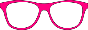 Pink Glasses Clip Art