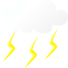 Thunder Cloud Clip Art