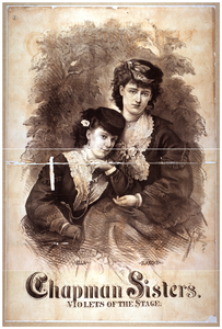 Chapman Sisters, Violets Of The Stage Image